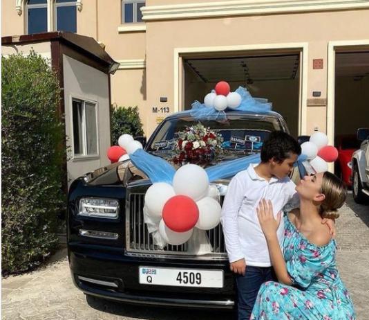 Businesswoman Gulnora Mukhedinova buys son a Rolls Royce on 12th birthday