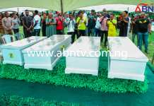 Four Children Of Same Parents Who Died Same Day Buried In Abia