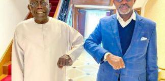 Gov Dapo Abiodun Visits APC National Leader, Bola Tinubu In London