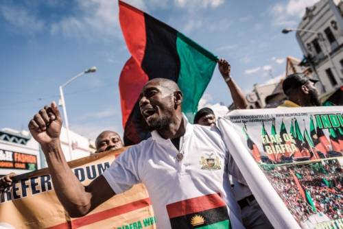 IPOB Declares Sit-at-home On October 1, Orders Removal Of Nigerian Flags