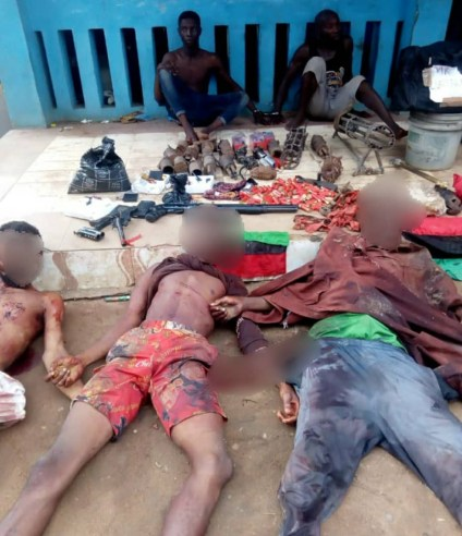 IPOB ESN Commander Killed, 16 IEDs Recovered In Imo