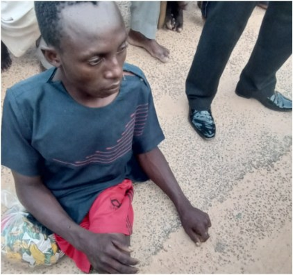 See Photo As Physically Challenged Suspected kidnapper Is Arrested In Katsina