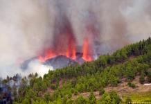 Canary Islands Volcano Lava Reaches Sea