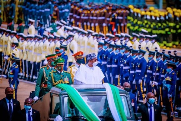 How President Buhari, Govs, Others Celebrated Nigeria's 61st Independence Anniversary