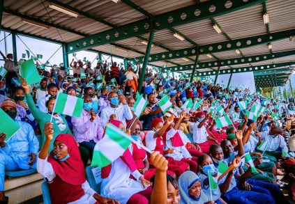 Photos From The 61st Independence Anniversary Ceremony Held At Abuja