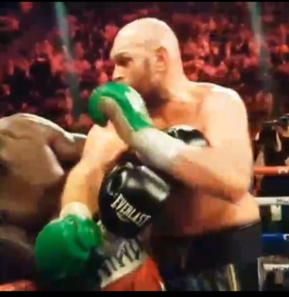 The Moment Tyson Fury Knocked Down Wilder In The Final Round
