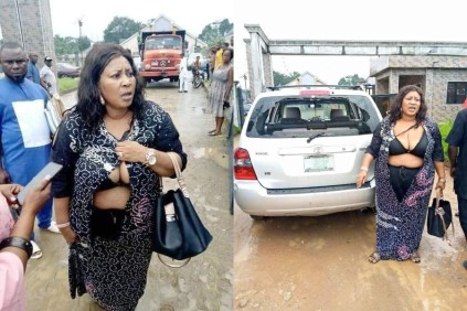 Why Thugs Beat And Almost Strip Naked Female Councilor In Rivers State