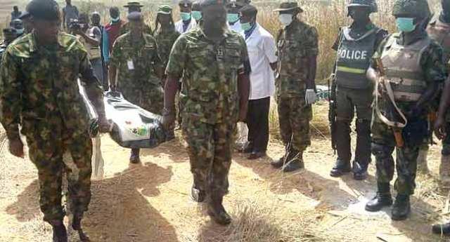 Army General, Alkali Missing Body Found (Photos)