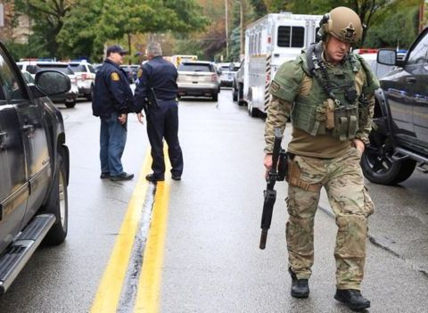 Gunman Opens Fire At United States Synagogue, Eleven Kill, Many Injured
