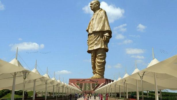 India Unveils World's Tallest Statue