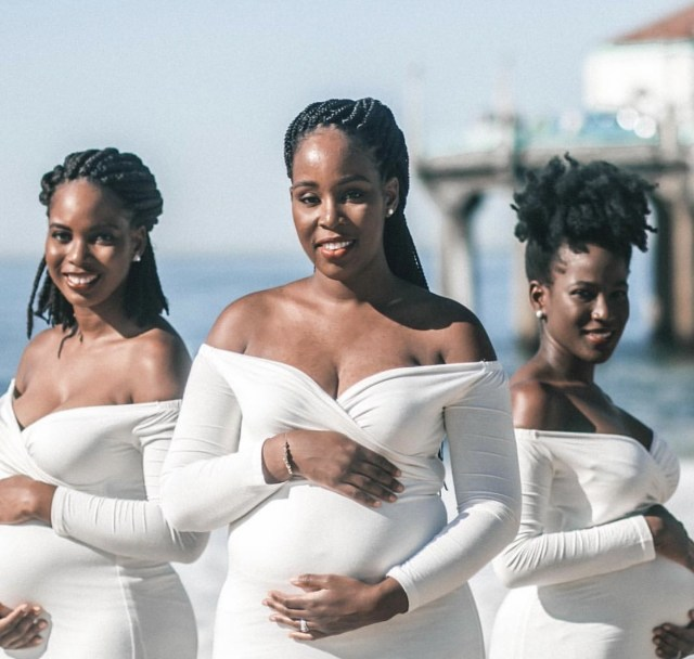 Maternity Photos Of Three Pregnant Sisters Trends Online