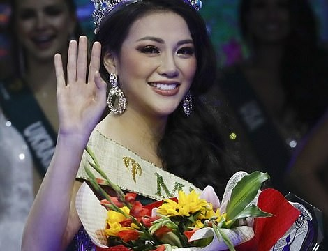 23-Year-Old Vietnamese Model Emerge As Miss Earth After Defeating 86 Stunning Beauties