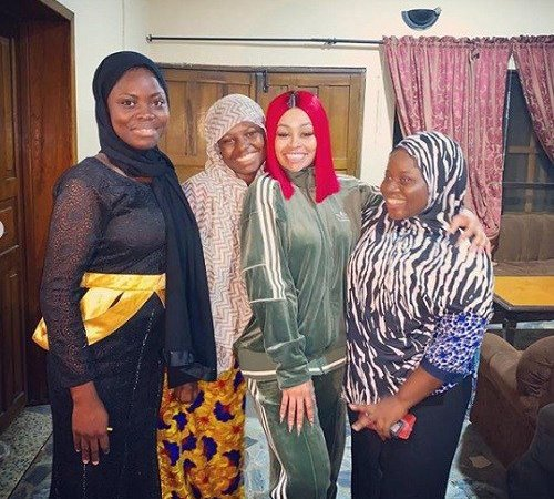 Blac Chyna Pays A Visit To An Orphange, Donates Items, Shares Her Experience