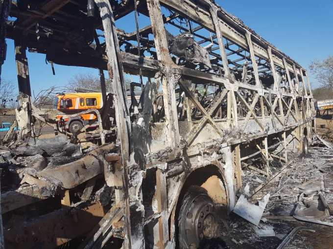 Bus Fire Accident Killed At Least 42 Persons In Zimbabwe