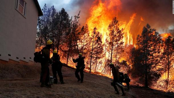 California Wildfire Becomes Deadliest In History As 44 People Killed