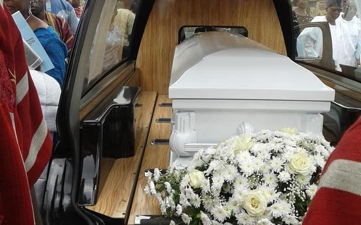 Chief Ope Bademosi Who Was Murdered By His Togolese Cook Buried