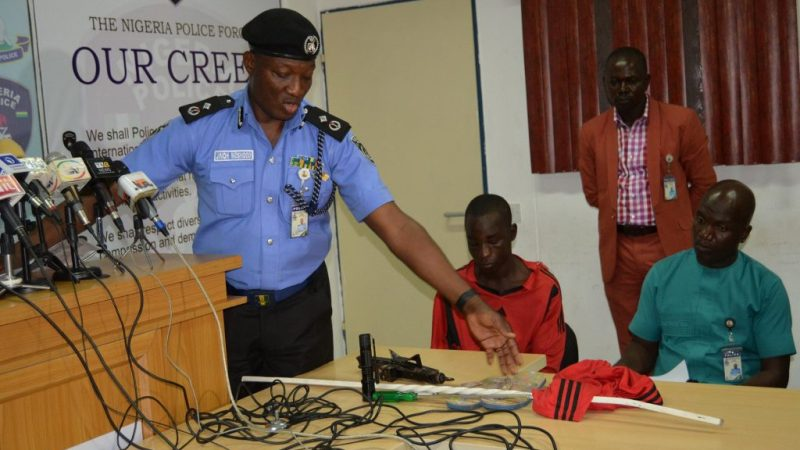 Ekweremadu's Assassination Attempt: Police Release 'Weapons' Found On Suspect