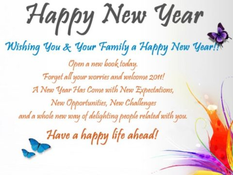 Happy New Year Messages For Family, Loved Ones & Friends