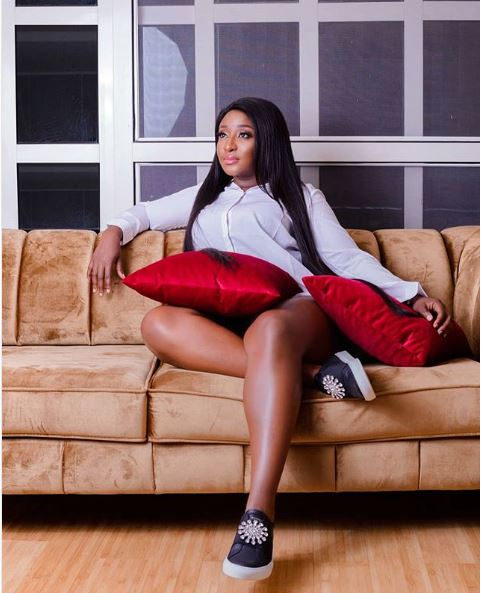Nollywood Actress, Ini Edo Shows Her Hot Legs In New Photos