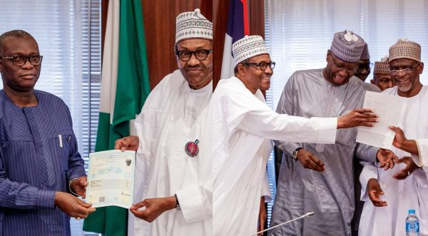 President Buhari Receives His WAEC Certificate