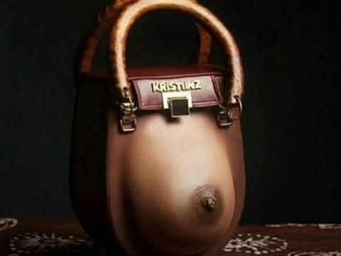 Trending 'Nipple' Inspired Handbag
