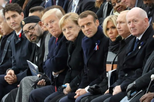 Trump, Putin, Macron, Buhari Mark End Of World War I