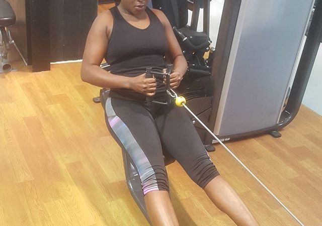 After Hitting The Gym regularly, Ini Edo's Waist Causes A Stir On Social Media