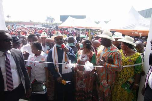 Akwa Ibom Governor, Udom Opens First Rice Mill In Akwa Ibom