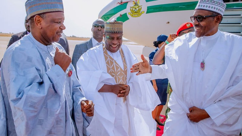 Buhari Meets With Family Of Shehu Shagari