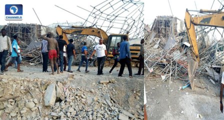 Death Toll Rises To 15 In Port Harcourt Building Collapse