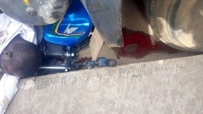 Fuel Tanker Crush Newly Wedded Motorcyclist To Death In Ondo