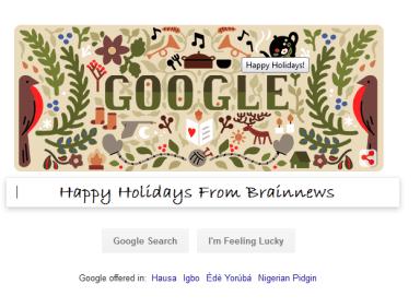 Happy Holidays From Brainnews
