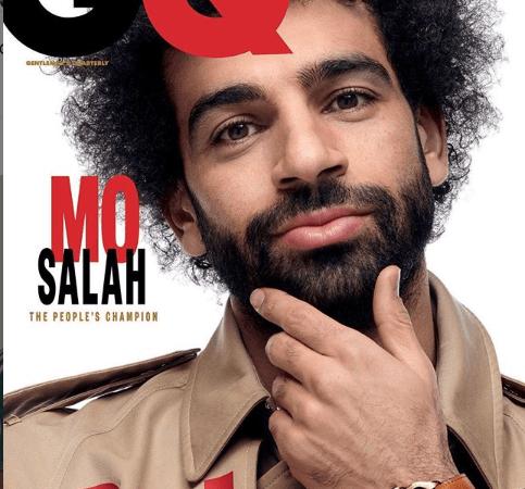Mohamed Salah Covers For GQ Magazine