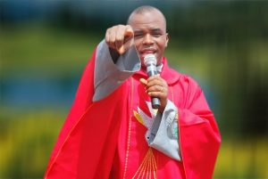 Peter Obi Reacts To Viral Video With Fr. Mbaka