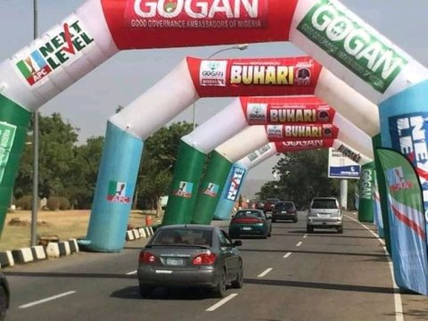 Photos From Buhari, APC Campaign Rally In Akwa Ibom State