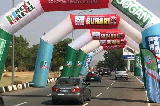 Photos From Buhari, APC Campaign Rally In Akwa Ibom State