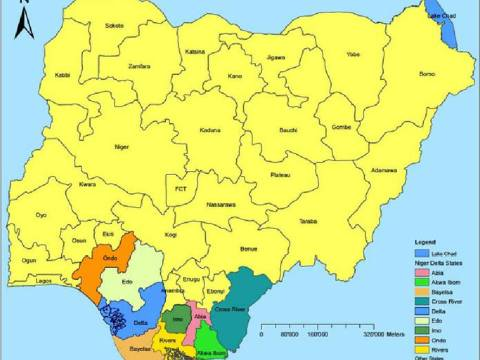 The 9 Niger Delta States In Nigeria