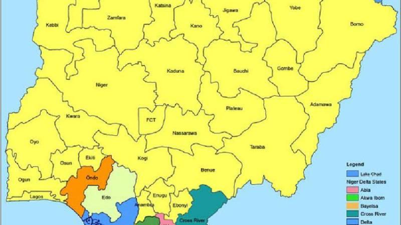 The 9 Niger Delta States In Nigeria