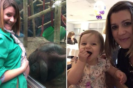 Woman Who Suffered 6 Miscarriages, Gave Birth After An Animal Kissed Her Bump At A Zoo