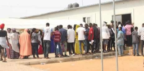 2019 UTME Candidates Storm Abuja Registration Centre