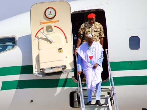 APC Presidential Campaign Kicks As President Muhammadu Buhari Lands In Borno