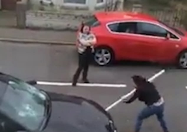 Angry Woman Destroys Husband's BMW Car Worth £30,000