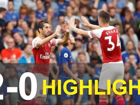 [Video Highlights] - Arsenal Vs Chelsea (2 – 0) EPL Match Day