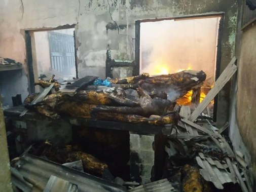 Bodies Burnt Beyond Recognition As Fire Razes Morgue