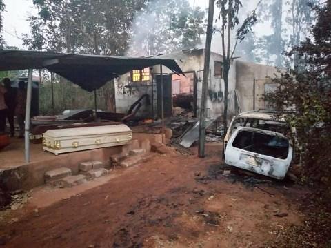 Bodies Burnt Beyond Recognition As Fire Razes Morgue