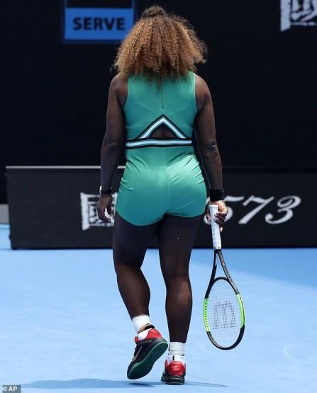 Figure-hugging Bodysuit Serena Williams Wore At The Australian Open Clash Is Trending Online
