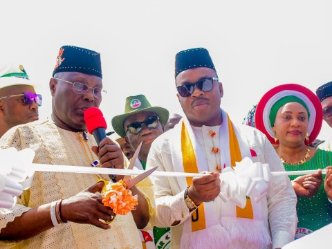 More Photos From Atiku Presidential Campaign Rally In Uyo, Akwa Ibom