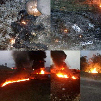 More Than 60 Persons Killed In Petrol Tanker Explosion In Cross River