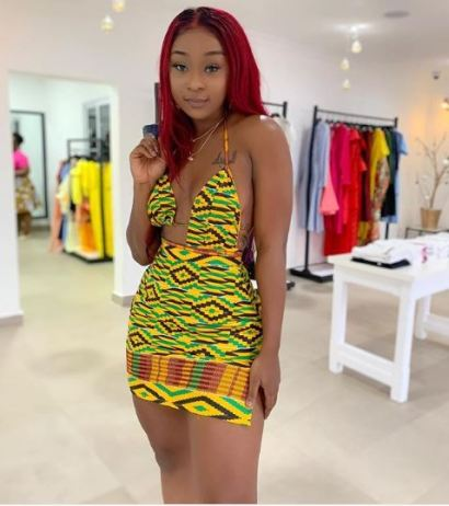 Mouth Watering Photos Of Ghanaian Actress, Efia Odo Goes Online
