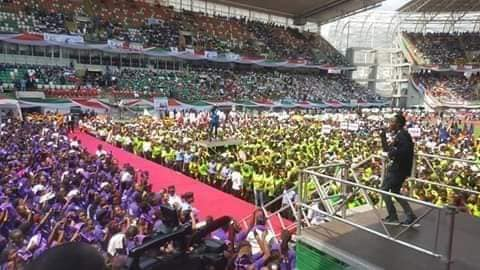 Photos From Atiku Campaign Rally In Uyo, Akwa Ibom